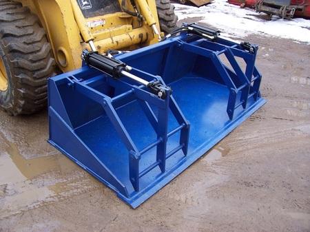 Custom built Skid Steer attachments